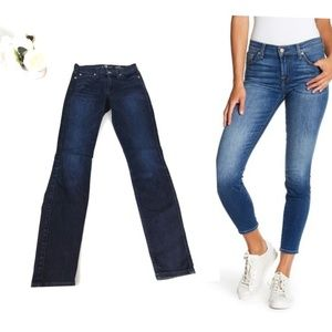 7 for all mankind ankle gwenevere blue Denim 24